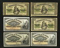Canadian Currency: , Dominion of Canada 1900 & 1923 Sextet.. ... (Total: 6 notes)