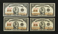 Canadian Currency: , 1923 Fractional Group.. ... (Total: 4 notes)