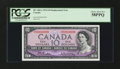 Canadian Currency: , BC-40bA $10 1954 Replacement Note. . ...