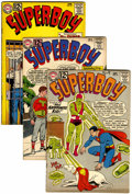 Silver Age (1956-1969):Superhero, Superboy Box Lot (DC, 1962-76) Condition: Average VG+....