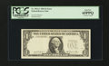 Error Notes:Third Printing on Reverse, Fr. 1911-C $1 1981 Federal Reserve Note. PCGS Gem New 65PPQ.. ...