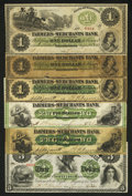 Obsoletes By State:Maryland, Greensborough, MD- Farmers and Merchants Bank Notes. Six Examples.. ... (Total: 6 notes)