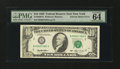 Error Notes:Ink Smears, Fr. 2030-B $10 1993 Federal Reserve Note. PMG Choice Uncirculated64 EPQ.. ...