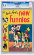 Golden Age (1938-1955):Cartoon Character, New Funnies #109 File Copy (Dell, 1946) CGC NM+ 9.6 Off-whitepages....