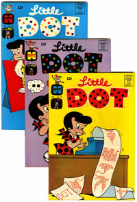 Little Dot File Copies Group (Harvey, 1965-76) Condition: Average VF/NM.... (Total: 61 )