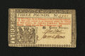 Colonial Notes:New Jersey, New Jersey February 20, 1776 £3 John Hart Choice New....
