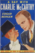 Memorabilia:Movie-Related, A Day With Charlie McCarthy and Edgar Bergen #770 (Whitman, 1938)Condition: VF/NM....