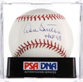 Autographs:Baseballs, Don Sutton Single Signed Baseball PSA Mint+ 9.5....