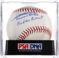 Autographs:Baseballs, Minnie Minoso Single Signed Baseball PSA Mint+ 9.5....