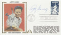 Autographs:Post Cards, Lefty Gomez Signed First Day Cover....