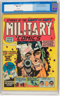 Golden Age (1938-1955):War, Military Comics #10 Mile High pedigree (Quality, 1942) CGC NM+ 9.6 White pages....