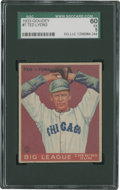 Baseball Cards:Singles (1930-1939), 1933 Goudey Ted Lyons #7 SGC 60 EX 5....