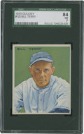 Baseball Cards:Singles (1930-1939), 1933 Goudey Bill Terry #125 SGC 84 NM 7....