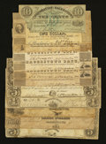 Obsoletes By State:Maryland, Hagerstown, MD- Mixed Lot of Notes from Hagerstown. Twelve Examples.. ... (Total: 12 notes)