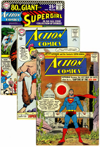 Action Comics Group (DC, 1963-68) Condition: Average VG/FN.... (Total: 13 )