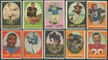 Football Cards:Sets, 1958 Topps Football Near Set (106/132) With Jim Brown Rookie. ...