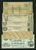 Obsoletes By State:Maryland, Baltimore, MD- Mixed Lot of Obsoletes. Six Examples, including College Currency.. ... (Total: 6 notes)