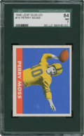 Football Cards:Singles (Pre-1950), 1948 Leaf Perry Moss #10 SGC 84 NM 7....