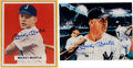 Autographs:Photos, Mickey Mantle Signed Photographs Lot of 2....