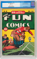 Golden Age (1938-1955):Miscellaneous, More Fun Comics #50 Mile High pedigree (DC, 1939) CGC NM 9.4 Off-white to white pages....