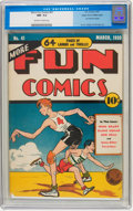Golden Age (1938-1955):Miscellaneous, More Fun Comics #41 Mile High pedigree (DC, 1939) CGC NM- 9.2 Off-white to white pages....
