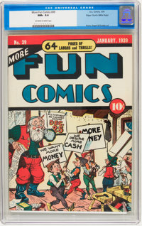 More Fun Comics #39 Mile High pedigree (DC, 1939) CGC NM+ 9.6 Off-white to white pages