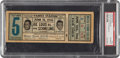 Boxing Collectibles:Memorabilia, 1936 Louis vs. Schmeling Full Ticket....