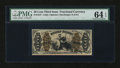 Fractional Currency:Third Issue, Fr. 1347 50¢ Third Issue Justice PMG Choice Uncirculated 64 EPQ....