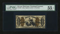 Fractional Currency:Third Issue, Fr. 1346 50¢ Third Issue Justice PMG About Uncirculated 55 EPQ....