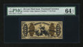 Fractional Currency:Third Issue, Fr. 1345 50¢ Third Issue Justice PMG Choice Uncirculated 64 EPQ....