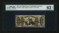 Fractional Currency:Third Issue, Fr. 1361 50¢ Third Issue Justice PMG Choice Uncirculated 63 EPQ....