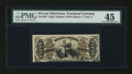 Fractional Currency:Third Issue, Fr. 1363 50¢ Third Issue Justice PMG Choice Extremely Fine 45....