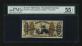 Fractional Currency:Third Issue, Fr. 1372 50¢ Third Issue Justice PMG About Uncirculated 55 EPQ....