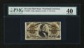 Fractional Currency:Third Issue, Fr. 1300 25¢ Third Issue PMG Extremely Fine 40....