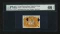 Fractional Currency:Second Issue, Milton 2E5R.2 5¢ Second Issue Negative Essay PMG Gem Uncirculated 66 EPQ....