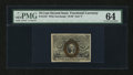Fractional Currency:Second Issue, Fr. 1247 10¢ Second Issue PMG Choice Uncirculated 64....