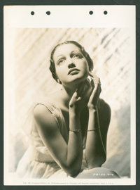 """Dorothy Lamour (Columbia, 1937-1948). Keybook Portrait Photos (3) (8"""" X 11""""). Miscellaneous. ... (Total: 3 Ite..."""