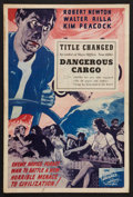"Movie Posters:Adventure, Hell's Cargo (Film Alliance, 1939). Pressbook (12"" X 18"") AlsoKnown As Dangerous Cargo. Adventure.. ..."