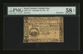 Colonial Notes:South Carolina, South Carolina December 23, 1776 $3 PMG Choice About Unc 58 EPQ....