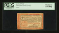 Colonial Notes:Pennsylvania, Pennsylvania April 10, 1777 Red and Black 20s PCGS Choice About New 55PPQ....