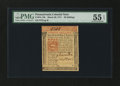 Colonial Notes:Pennsylvania, Pennsylvania March 20, 1771 20s PMG About Uncirculated 55 EPQ....