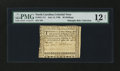 Colonial Notes:North Carolina, North Carolina July 14, 1760 40s PMG Fine 12 Net....