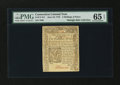 Colonial Notes:Connecticut, Connecticut June 19, 1776 2s6d PMG Gem Uncirculated 65 EPQ....