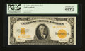 Large Size:Gold Certificates, Fr. 1173 $10 1922 Gold Certificate Star PCGS Extremely Fine45PPQ....