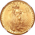 Saint-Gaudens Double Eagles, 1932 $20 MS66 PCGS....