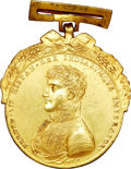 Mexico, Mexico: Ferdinand VII gold plated bronze Proclamation Medal1809,...