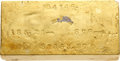 S.S. Central America Gold Bars, Justh & Hunter 185-Ounce Gold Ingot....
