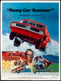 """Movie Posters:Documentary, Funny Car Summer Lot (Ambassador Pictures, 1974). One Sheets (2) (27"""" X 41""""). Documentary.. ... (Total: 2 Items)"""