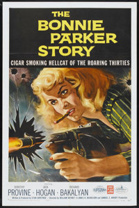 """The Bonnie Parker Story (American International, 1958). One Sheet (27"""" X 41""""). Crime"""