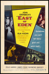 """East of Eden (Warner Brothers, 1955). One Sheet (27"""" X 41""""). Drama"""